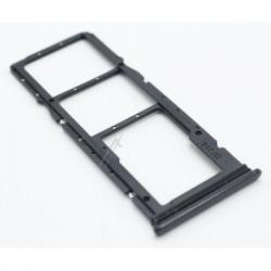 Rack double SIM et SD pour Xiaomi Redmi 8 - Noir photo 0