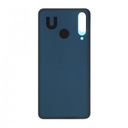 Vitre arrière compatible pour Xiaomi Mi A3 Bleu photo 2