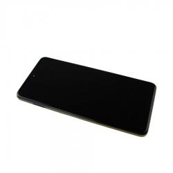 Bloc écran IPS LCD et vitre pré-montés sur châssis pour Xiaomi Poco X3 Pro Noir photo 1