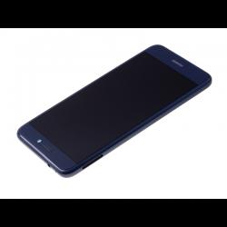 Écran Bleu COMPLET prémonté sur châssis avec batterie pour Huawei P8 Lite 2017 photo 2