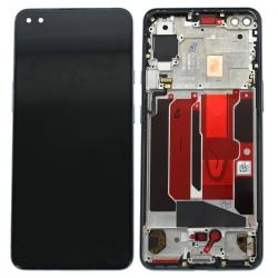 Bloc écran vitre + Fluid Amoled pré-monté sur châssis pour OnePlus Nord Gris Onyx_photo1
