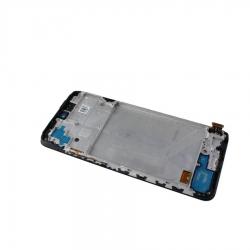 Bloc écran AMOLED et vitre pré-montés sur châssis pour Xiaomi Redmi Note 10S Noir photo 2