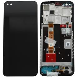 Bloc écran vitre + IPS LCD pré-monté sur châssis pour Oppo Reno4 Z Noir_photo1