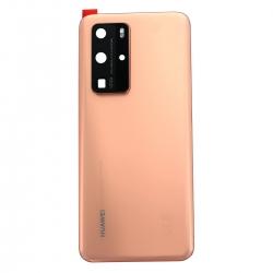 Vitre arrière pour Huawei P40 Pro Or_photo1