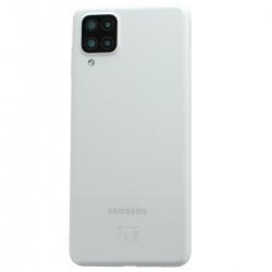 Coque arrière Blanche d'origine pour Samsung Galaxy A12_photo1