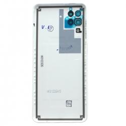 Coque arrière Blanche d'origine pour Samsung Galaxy A12_photo2