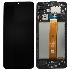 Bloc écran PLS LCD pré-monté sur châssis pour Samsung Galaxy A12_photo1