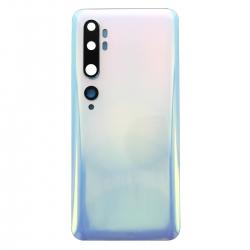 Vitre arrière compatible pour Xiaomi Mi Note 10 et Mi Note 10 Pro Blanc_photo1