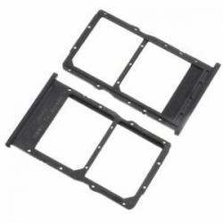 Rack SIM et SD pour Huawei P40 Lite - Noir photo 0