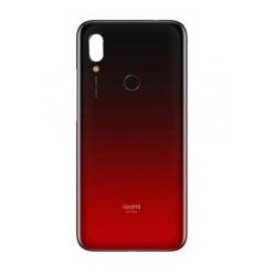 Vitre arrière d'origine pour Xiaomi Redmi 7 - Rouge photo 0