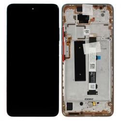 Bloc écran Amoled et vitre pré-montés sur châssis pour Xiaomi Mi 10 Lite 5G - Rose Gold photo 0