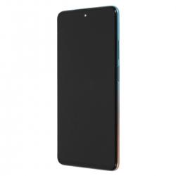 Bloc écran Amoled et vitre pré-montés sur châssis pour Xiaomi Mi 10 Lite 5G - Rose Gold photo 1