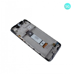 Bloc écran IPS LCD et vitre pré-montés sur châssis pour Xiaomi Redmi Note 10 5G Noir_photo2