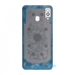 Vitre arrière compatible Samsung Galaxy A30 Blanc photo 2