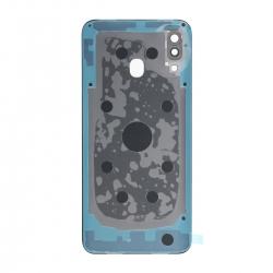 Vitre arrière compatible Samsung Galaxy A30 Noir photo 2
