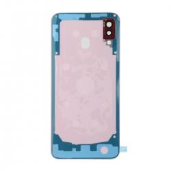 Vitre arrière compatible Samsung Galaxy A30 Rouge photo 2