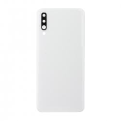 Vitre arrière compatible Samsung Galaxy A70 Blanc photo 1