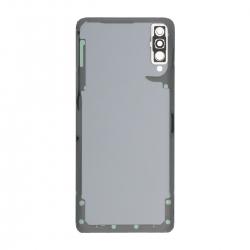 Vitre arrière compatible Samsung Galaxy A70 Blanc photo 2