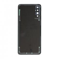 Vitre arrière compatible Samsung Galaxy A70 Noir photo 2