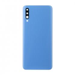 Vitre arrière compatible Samsung Galaxy A70 Bleu photo 1