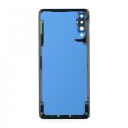 Vitre arrière compatible Samsung Galaxy A70 Bleu photo 2
