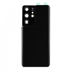 Vitre arrière compatible Samsung Galaxy S21 Ultra Noir photo 1