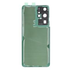 Vitre arrière compatible Samsung Galaxy S21 Ultra Noir photo 2