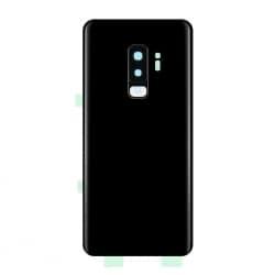 Vitre arrière compatible Samsung Galaxy S9+ Noir photo 1
