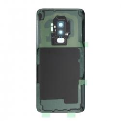 Vitre arrière compatible Samsung Galaxy S9+ Noir photo 2