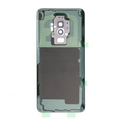 Vitre arrière compatible Samsung Galaxy S9+ Argent photo 2