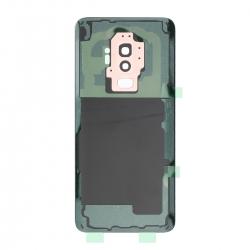 Vitre arrière compatible Samsung Galaxy S9+ Or photo 2