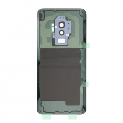 Vitre arrière compatible Samsung Galaxy S9+ Bleu photo 2