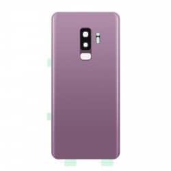 Vitre arrière compatible Samsung Galaxy S9+ Violet photo 1