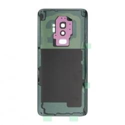 Vitre arrière compatible Samsung Galaxy S9+ Violet photo 2