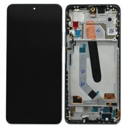Bloc écran Super AMOLED et vitre pré-montés sur châssis pour Xiaomi Mi 11i Blanc_photo1