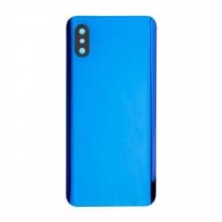 Vitre Arrière compatible Xiaomi Mi 8 Pro Bleu photo 1