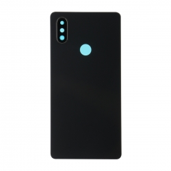 Vitre Arrière compatible Xiaomi Mi 8 SE Noir photo 1