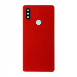 Vitre Arrière compatible Xiaomi Mi 8 SE Rouge photo 1