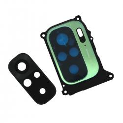 Châssis avec lentille de protection des caméras arrière pour Xiaomi Redmi Note 10 Vert Lagon_photo1