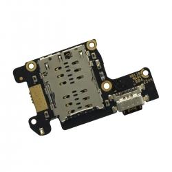 Connecteur de charge USB Type-C + lecteur SIM Compatible Xiaomi Mi 9T et Mi 9T Pro_photo1