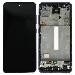 Bloc écran pré-monté sur châssis pour Samsung Galaxy A52 & A52 (5G) Violet_photo1
