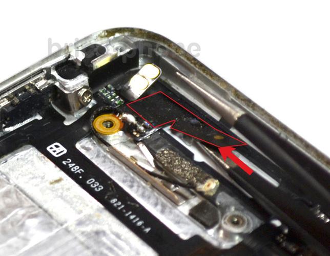 Etape 7c : Retirer le vibreur