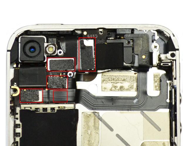 Etape 6a : Déconnecter les nappes LCD, tactiles, Jack et Power