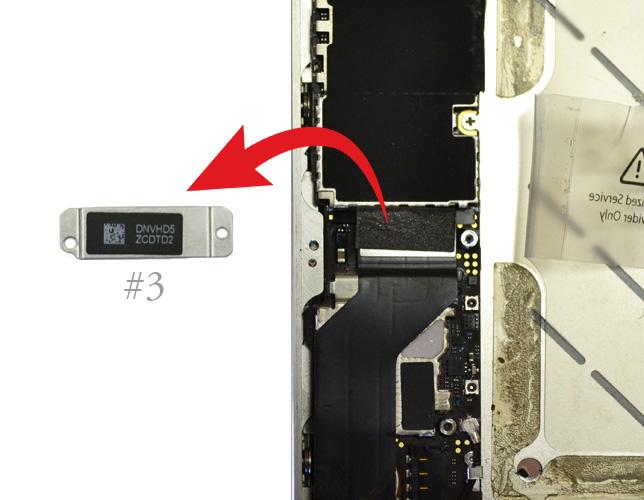 Etape 3b : Déconnecter les nappes USB et GSM