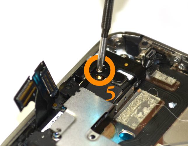 Etape 7a : Déconnecter le câble WIFI