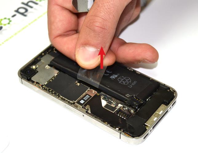 Etape 2d : Retirer la batterie