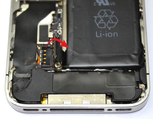 Etape 2c : Retirer la batterie