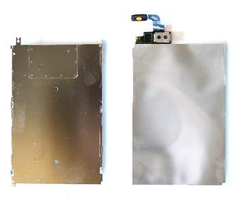 ETAPE 6b : Décoller le LCD de sa plaquette
