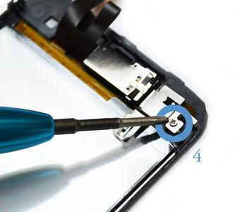 ETAPE 5b : Retirer l'écran LCD du chassis