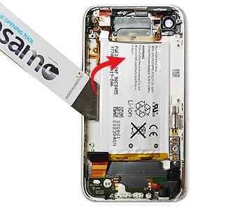 ETAPE 6a : Retirer la batterie